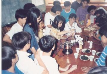 1995: Tea Sharing Event at Chinese Indepent Schools @ Klang