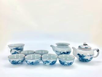 陶泥山水和谐套组 HARMONY LANDSCAPE TEA SET