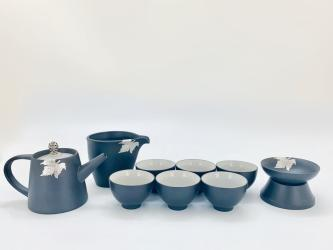 贴赐汉方壶组 GOLDEN MAPLE LEAF TEA POT SET