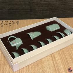 哥窑禅茶一味壶组  (冰裂) TEA SET
