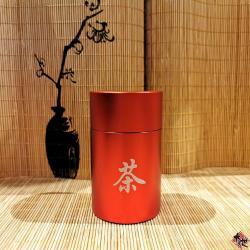 茶字铝茶罐 (红色) ALUMINIUM CONTAINER (RED)